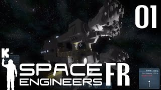 [FR] Space Engineers Alpha Gameplay ép 01 – Présentation et vaisseau de forage
