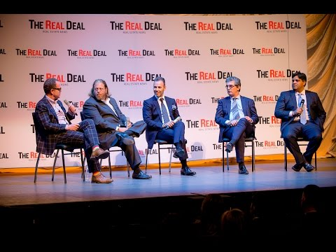 South Florida real estate panel at The Real Deal's Toronto forum