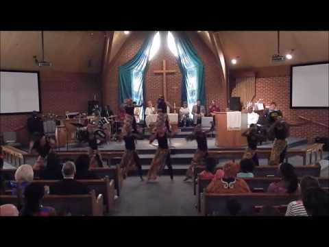 Living Water Fellowship International Church Girls Dance Team