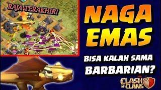 RAJA NAGA EMAS CoC Bisa KALAH Sama BARBARIAN!!