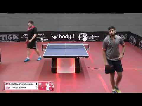 Aleksandar Karakasevic Vs Sushmit Sriram (Challenger Series, Nov 26th 2018, Group Match)