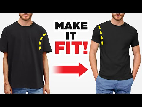 How To Tailor A T-Shirt