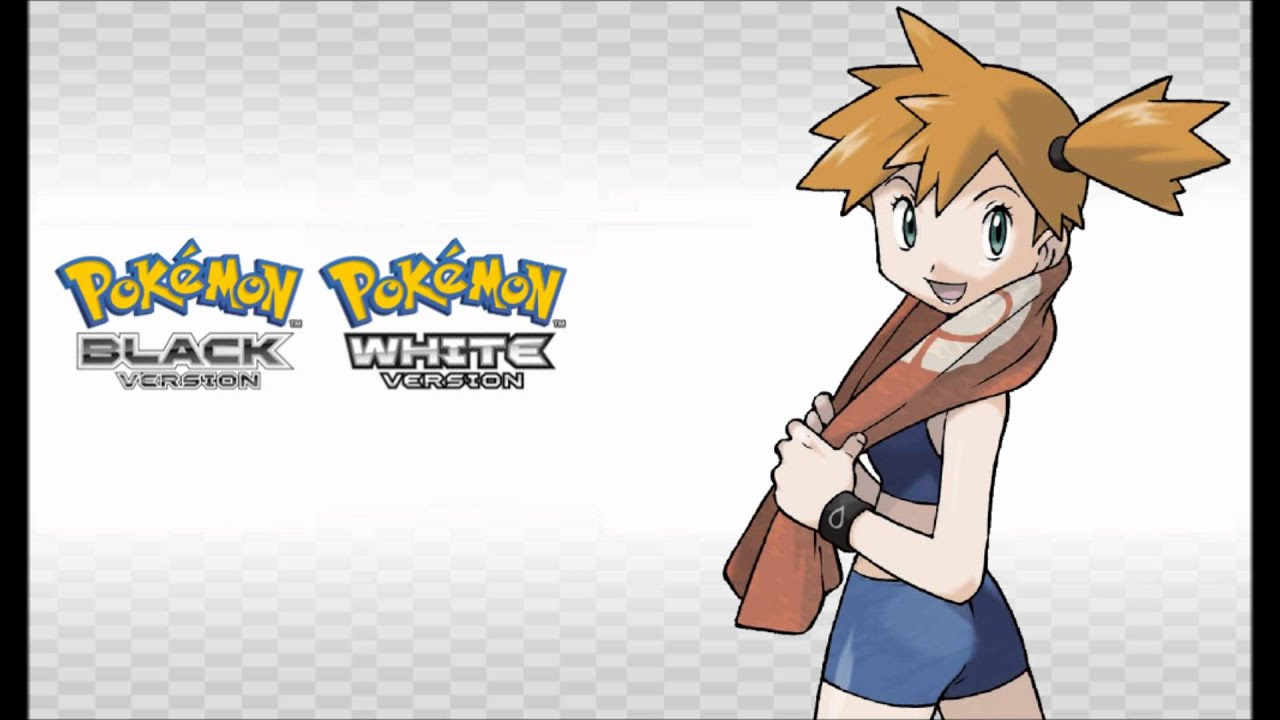 Black And White Misty : Pokémon br wb vs gym leader misty black white