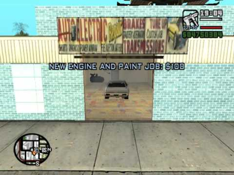 Gta San Andreas How To Get Spray Paint