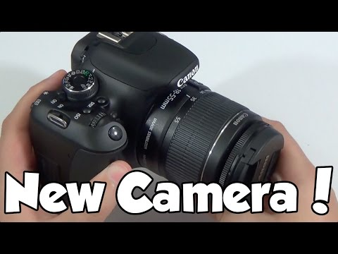My New Camera Unboxing | Canon T3i
