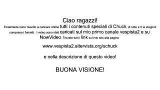 Tutti i contenuti speciali dei DVD di Chuck sottotitolati in italiano (link nella descrizione)