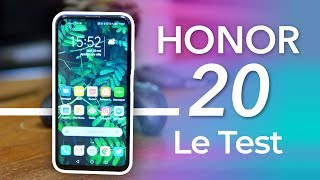 Test HONOR 20 : un air de déjà View !