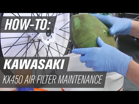 2019 Kawasaki KX450 | Air Filter Maintenance