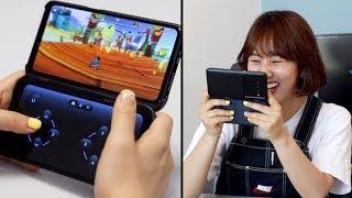 LG V50 씽큐 듀얼스크린 I 화면이 두개...이걸 어떻게 쓰면 좋을꼬...