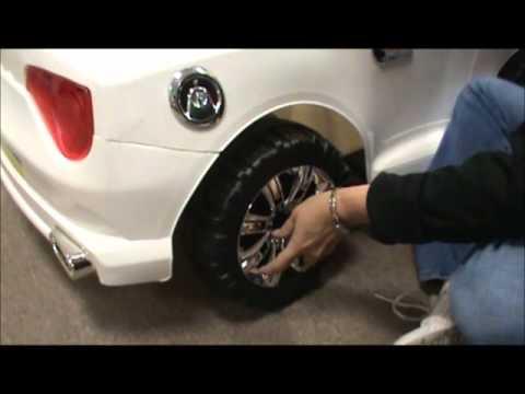 12V Convertible Car Assembly