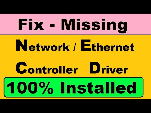 (Solution) Network Controller/Ethernet controller  driver