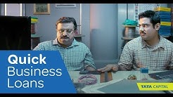 Quick Business Loans from Tata Capital