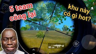 PUBG Mobile - Có Quá Nhiều Team Công Đến Khiến Lộc Ngộp Thở | M249 + AWM
