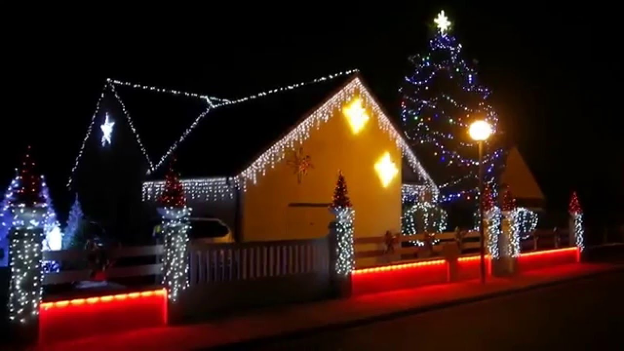 Illuminations maison no l 2015 vierzon youtube - Illumination maison noel ...