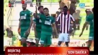 Giresunspor Vartaş ELazığspor maçı 90+4'de gelen Gol
