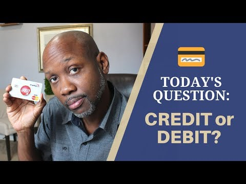Credit vs Debit Card - What's the Difference?💳