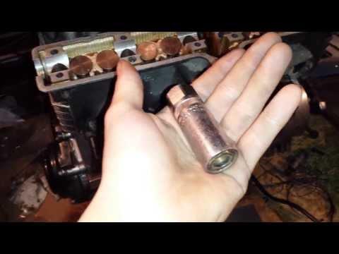 Grinding Yamaha FZR600 valve shim