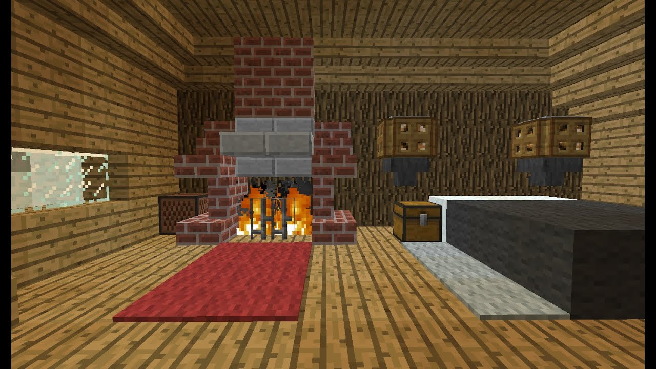 Camera Da Letto Minecraft minecraft: idee per letti e camini/ bed and fireplace