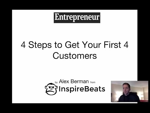 How to Get Clients: 4 Steps to Get Your First 4 Customers