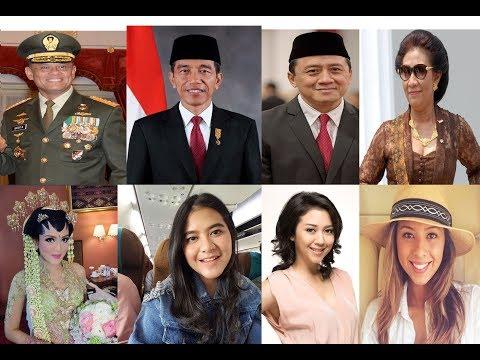7 Anak Pejabat Memiliki Wajah Cantik era Pemerintahan Jokowi