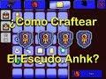 Terraria Movil 1.2 ¿Como Craftear El Escudo Anhk? [ANHK SHIELD]
