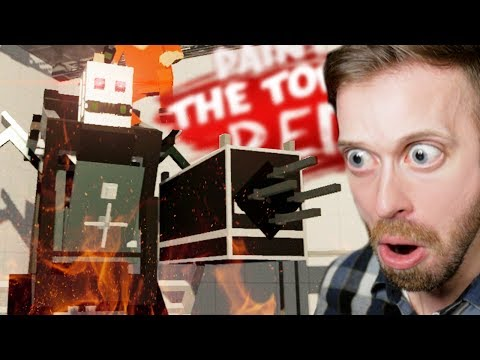 STEALTH MASTERS ESCAPE THE ROBOT BASE!! • Paint the Town Red Co-op (BEST CUSTOM LEVELS)