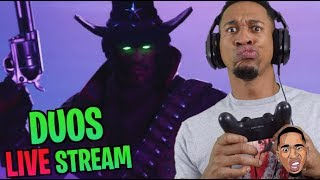 RUSTY WUSTY Fortnite DUOS Live Stream