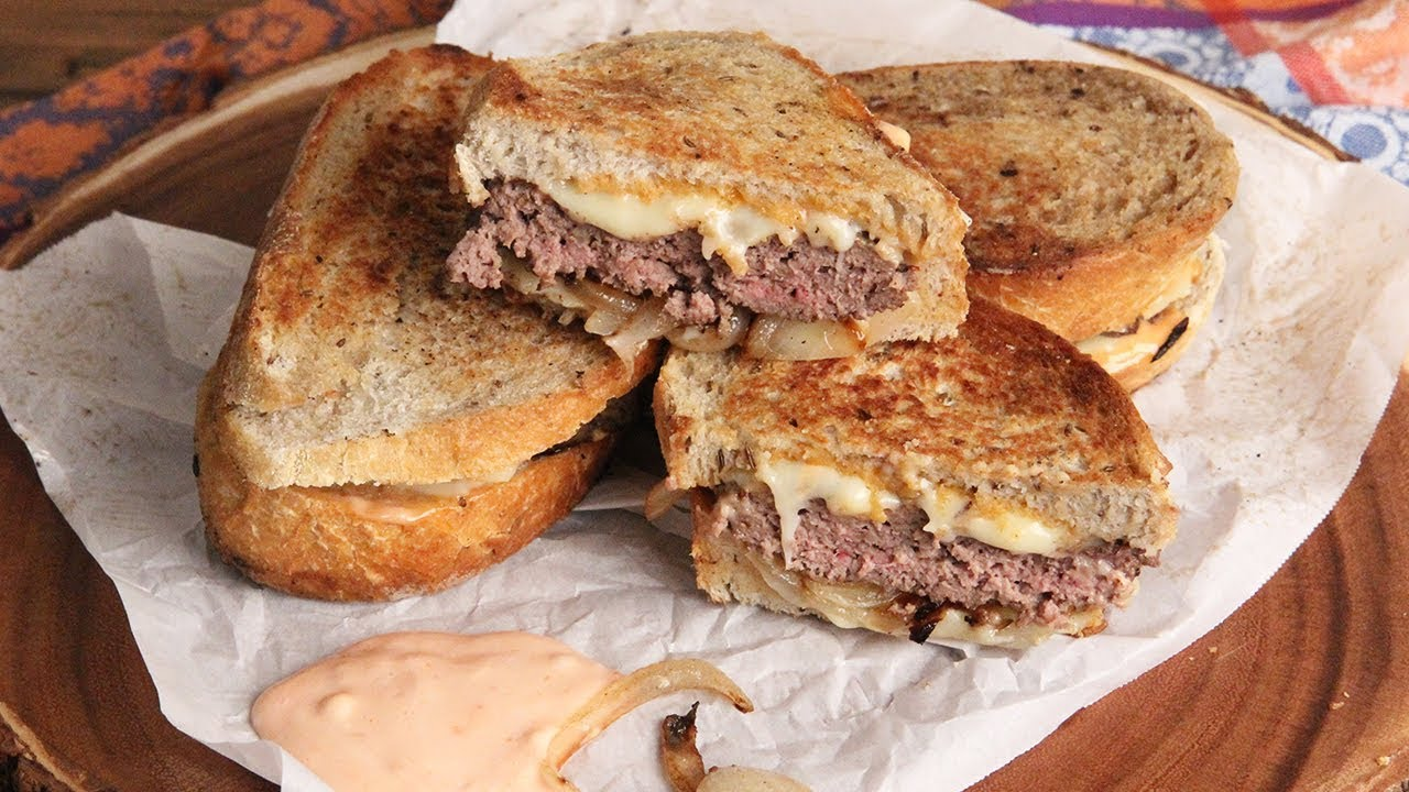 how to make homemade patty melts