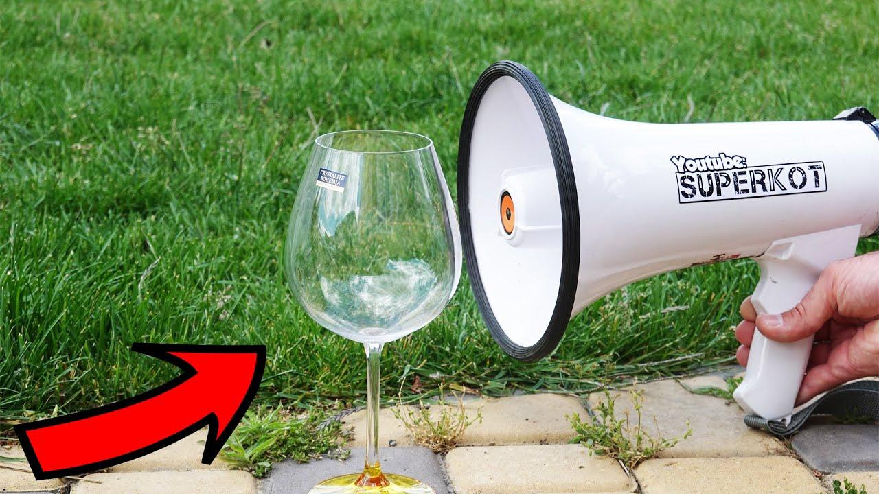 Download EXPERIMENT: MEGAPHONE vs GLASS