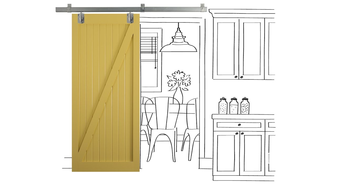Beau How To Build Sliding Barn Doors   YouTube