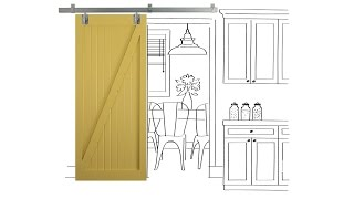 How to Build Sliding Barn Doors