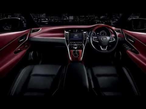 New Toyota Harrier SUV 2014
