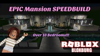 (READ DESCRIPTION) HUGE Mansion Speedbuild!!! - Bloxburg - Roblox
