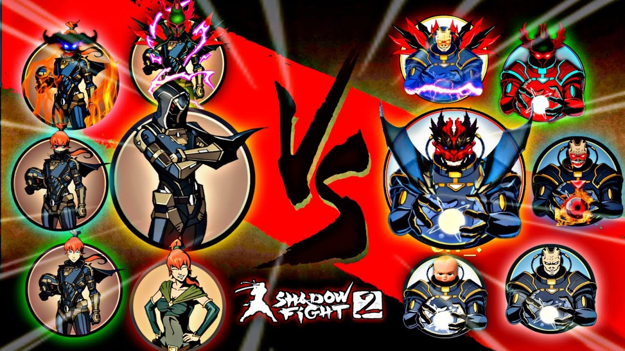 Shadow Fight 2 All May Vs All Titan