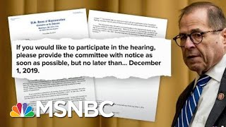 House Democrats Move To Next Phase Of Impeachment Inquiry | Deadline | MSNBC