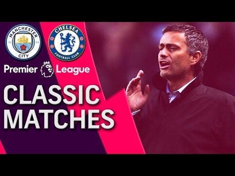 Manchester City v. Chelsea | PREMIER LEAGUE CLASSIC MATCH | 10/16/04 | NBC Sports