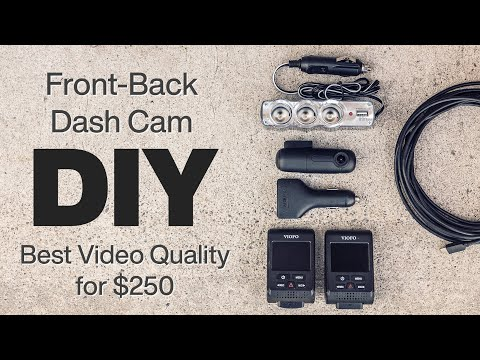 DIY Dual Dash Cam Setups - The BEST Video Quality You Can Get For $250