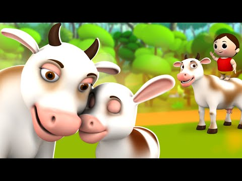 Gaiya Meri Aati Hai Hindi Nursery Rhymes for Kids गैया मेरी आती है | 3D Animated Hindi Balgeet Poems