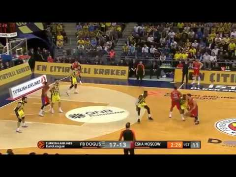 Fenerahce-CSKA 79-81: Andrey Vorontsevich 17 pts | Eurohoops