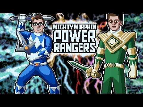Mighty Morphin Power Rangers (SNES) James & Mike Mondays