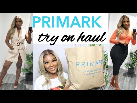 HUGE PRIMARK TRY ON HAUL | NEW IN 2020 & LOOK GOOD ON A BUDGET
