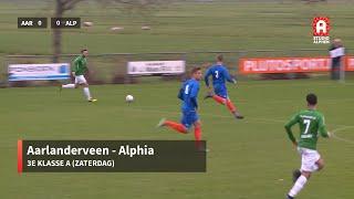 Samenvatting Aarlanderveen - Alphia (zaterdag 21 december)