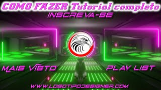 Tela Final para youtube Tutorial #01 Como Fazer Templante Final www logotipodesigner com