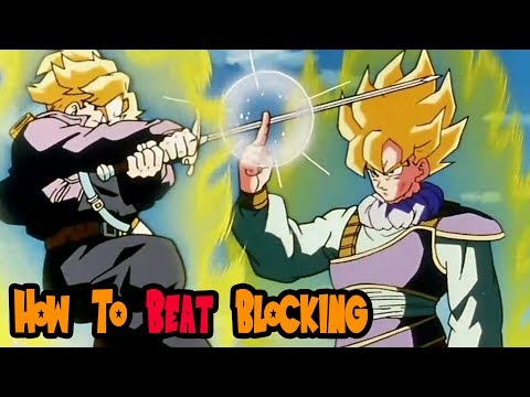 How To Get Around A Blocking Opponent In Dragonball FighterZ | A Beginners Guide