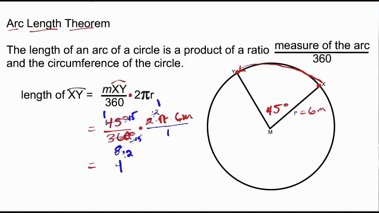 Arc Length Theorem