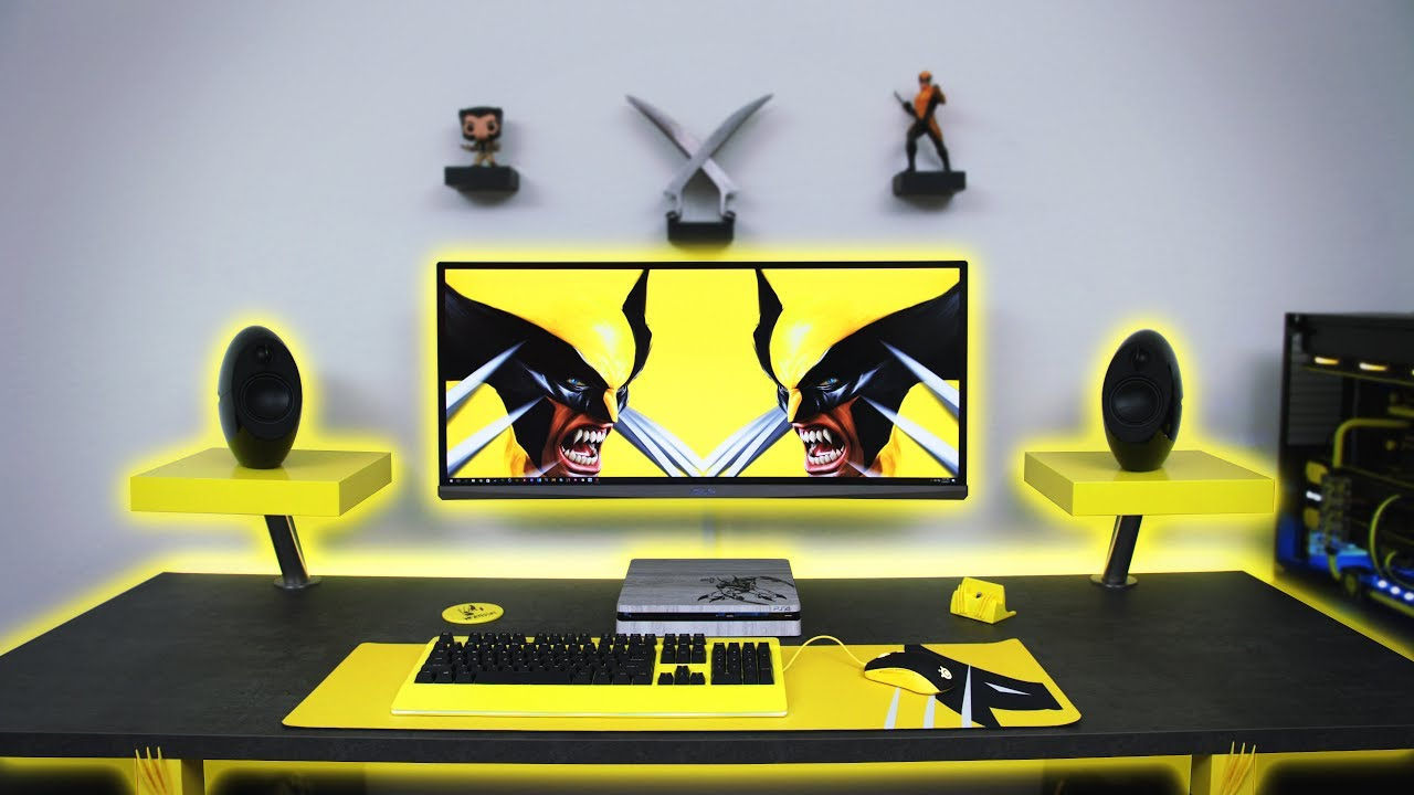 7500 Ultimate Wolverine Desk Setup Time Lapse Youtube