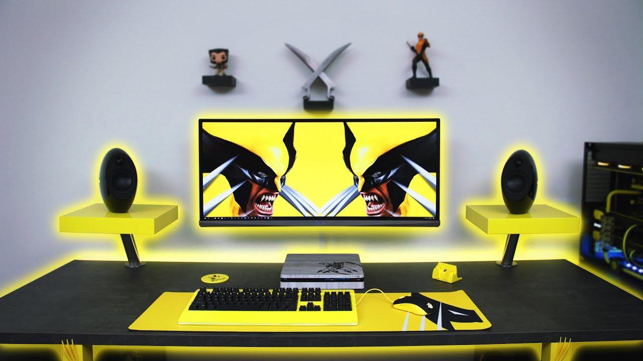7500 Ultimate Wolverine Desk Setup  Time Lapse  YouTube