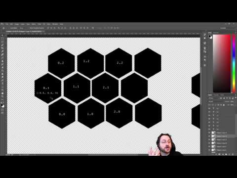 Simple Hex-Based Game Design for Unity 3d - Episode 1 [Livestreamed]
