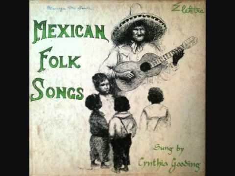 "Cynthia Gooding La Bamba 1953 10"" lp"