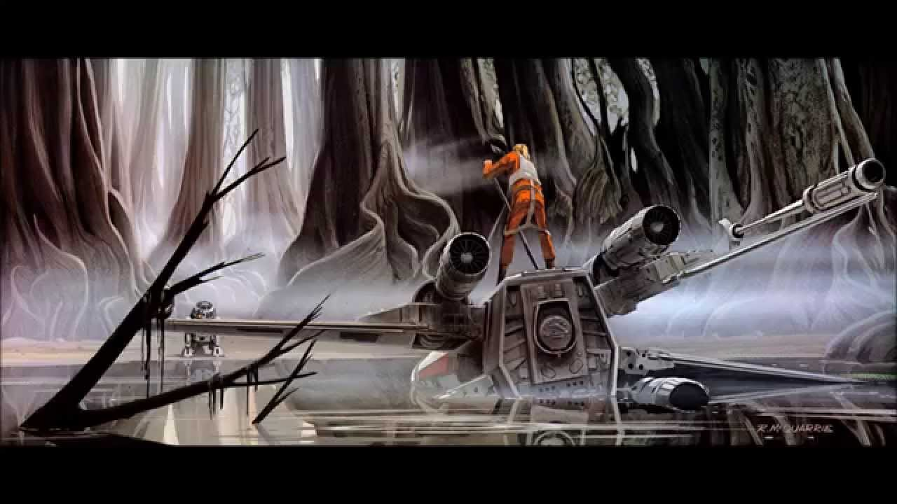 dagobah star wars background ambience youtube